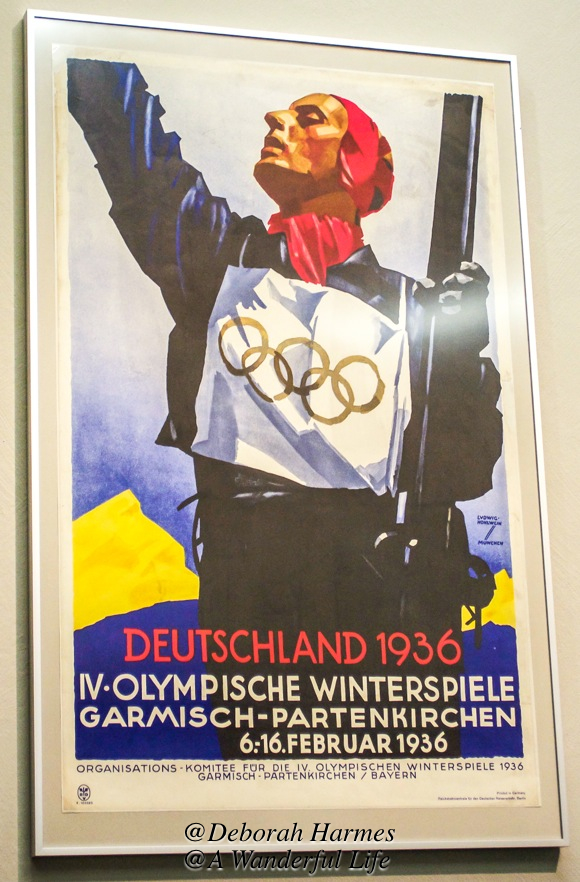 1936 Winter Olympics poster