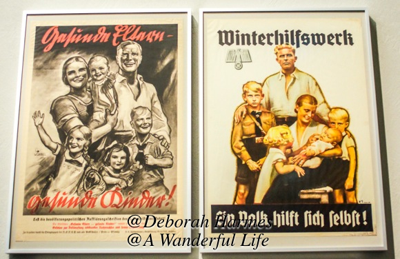 The German ideal of happy families with blonde hair and healthy bodies was highly encouraged.