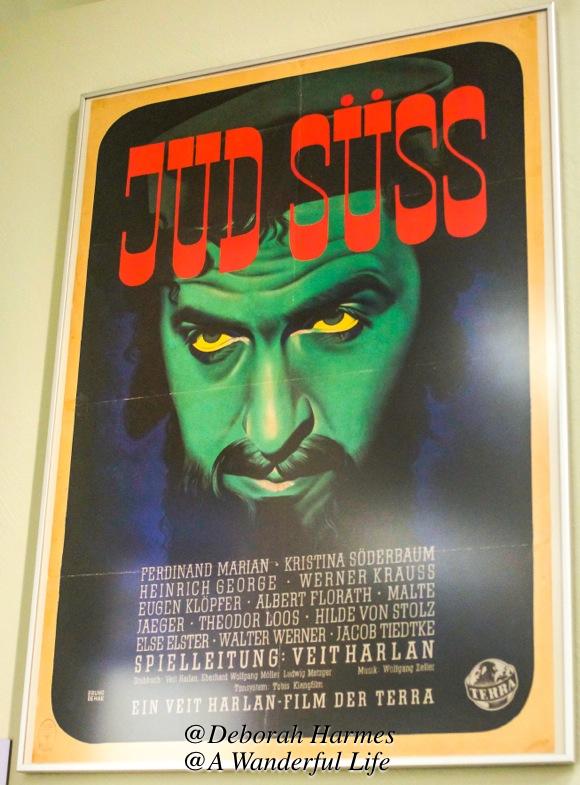 Poster advertising the anti-semetic film Jus Suss.