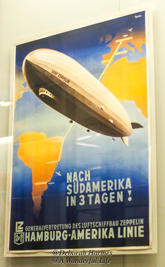 The glamourous airships or Zeppelins were still flying into the late 1930s. They provided a mental boost to the German public about their superiority with the construction of these massive airships.