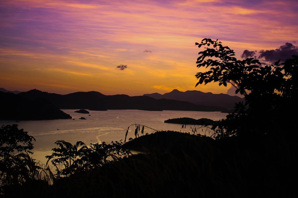 Where to witness the sunset in Coron