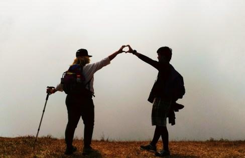 MT. ULAP AMPUCAO STA FE TRAVERSE