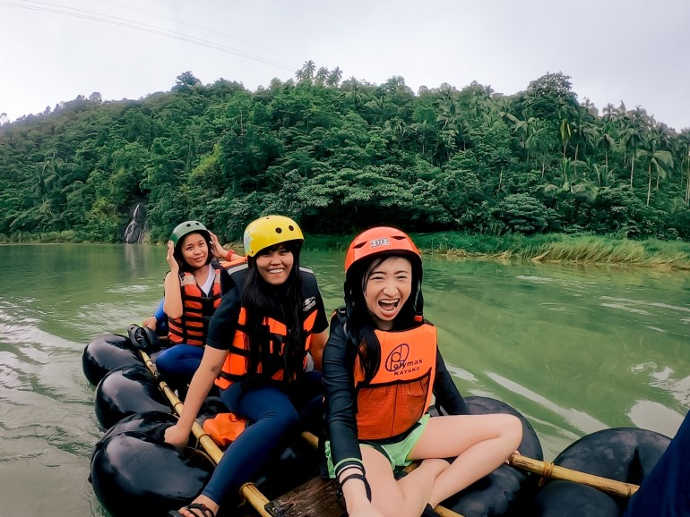 Real Quezon Beach + Whitewater Rafting