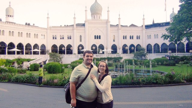 Sean and Jessica at Tivoli Gardens