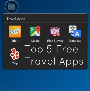 Top 5 Free Travel Apps Feature