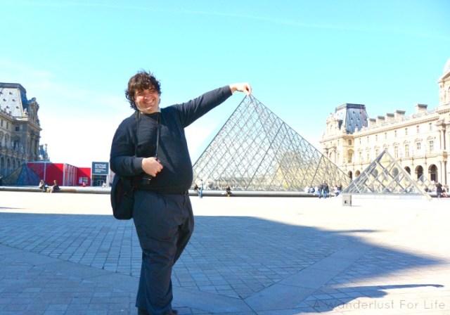 Paris Sean Louvre