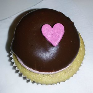 Heart Cupcake from Van Ness