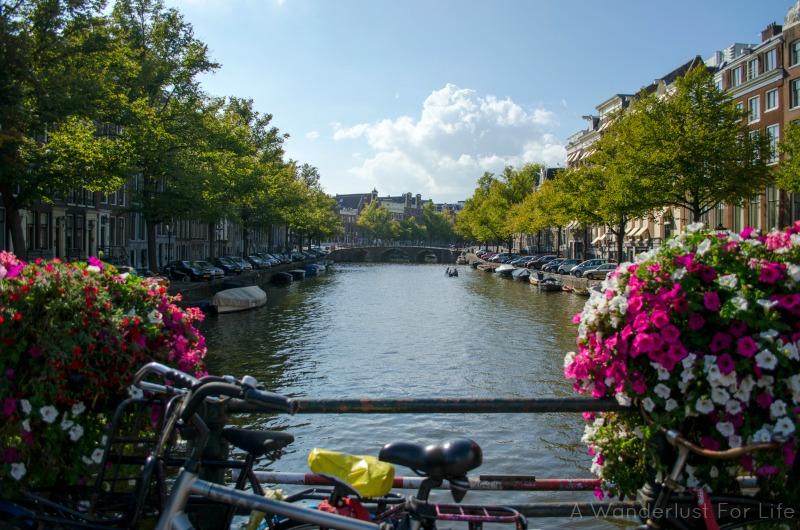 Amsterdam from a Bridge