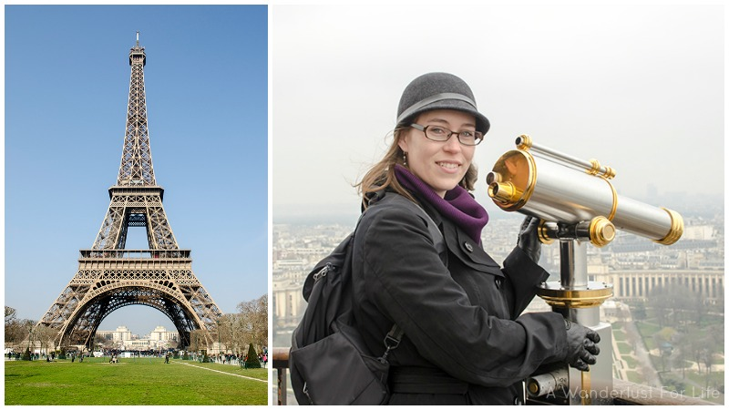 Jessica and Eiffel Tower