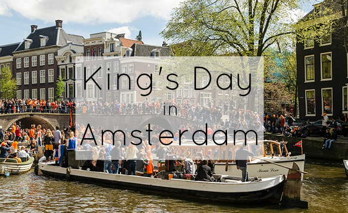 King's Day in Amsterdam 2015