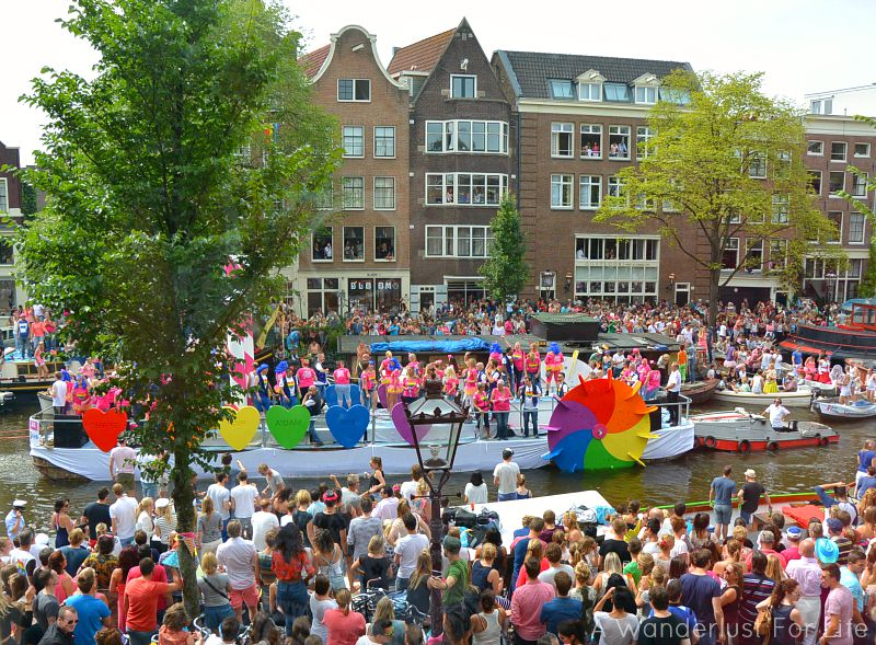 GVB - The transportation company of Amsterdam at Pride Amsterdam