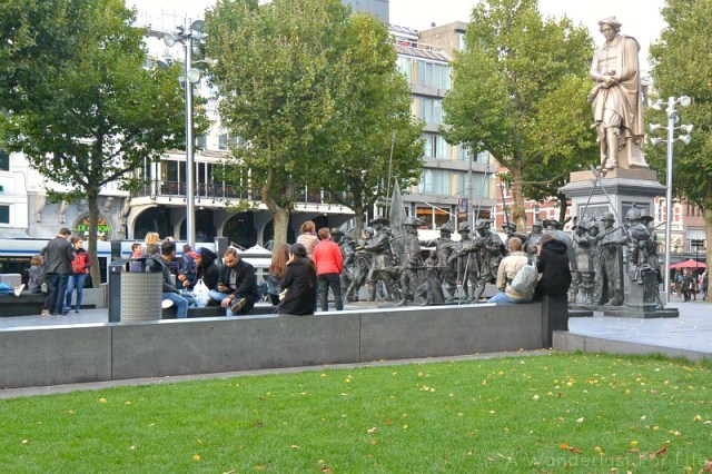 Picnic on Rembrandtplein