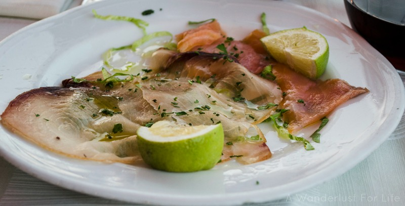Giardini-Naxos seafood