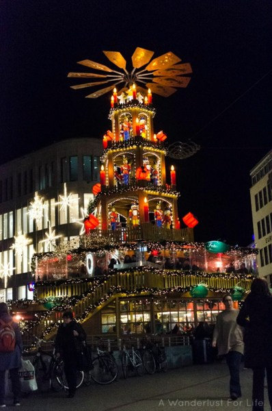 Christmas Pyramid in Hannover, Germany (Hanover)