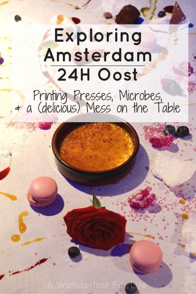 Exploring Amsterdam Pin