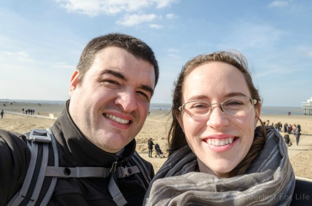 The Hague - photo of Sean and Jess