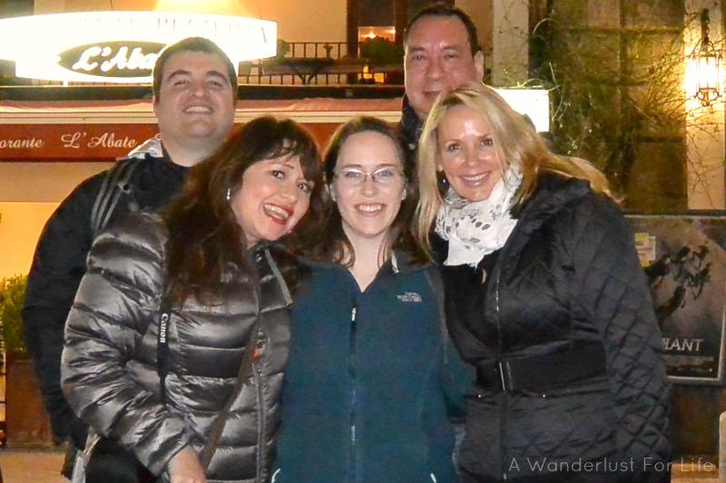 Wine Tasting in Sorrento - Group Photo