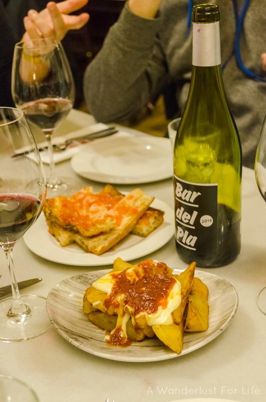 Barcelona Food Tour Patatas Bravas