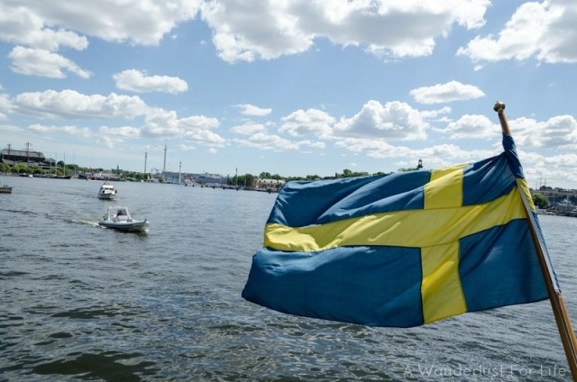 Cruising in Stockholm