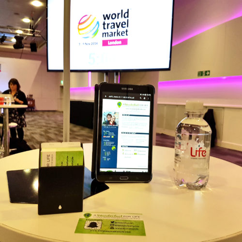 WTM speed networking table