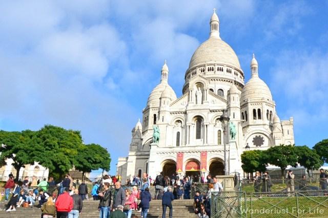 Paris Food Tour Sacre Coeur