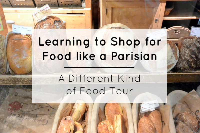 Learning to Shop for Food like a Parisian
