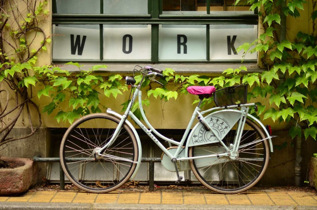 work bike in Amsterdam