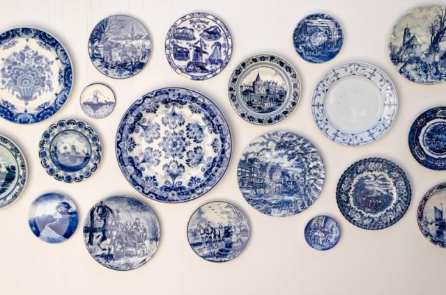 Delft pottery at Keukenhof