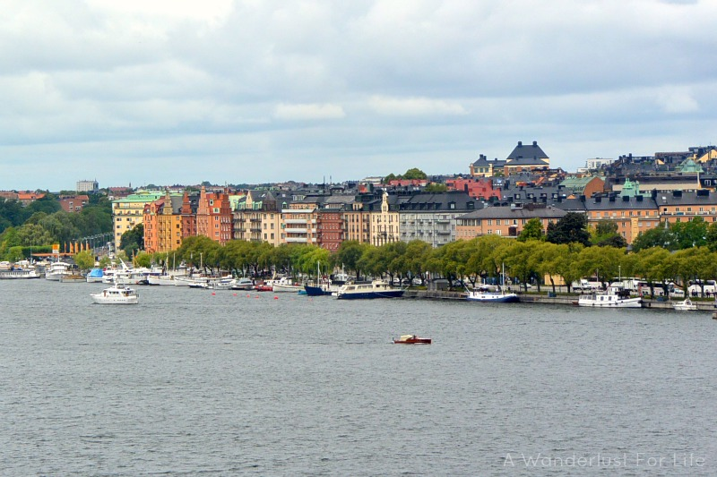 Rooftop tour of Stockholm