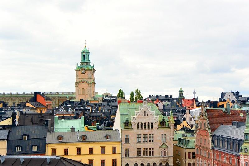 Stockholm roofs