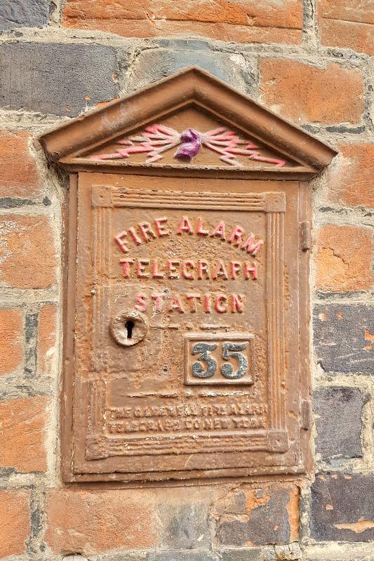 Fire alarm in Eton