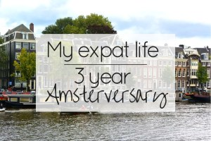 3 years in Amsterdam