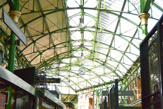 Borough Market Ceiling On London Food Tour