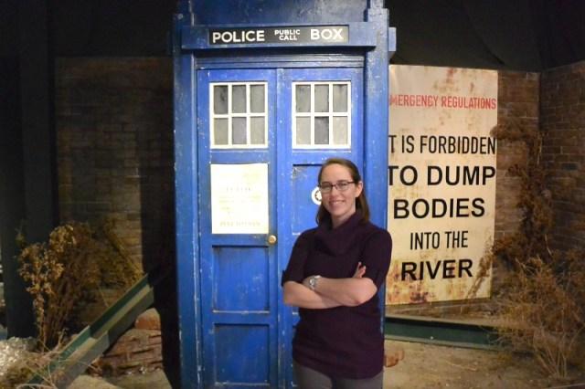 Jess and TARDIS