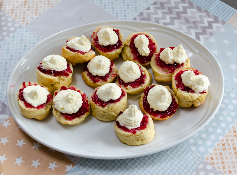 Scones at the Dingle Cookery School
