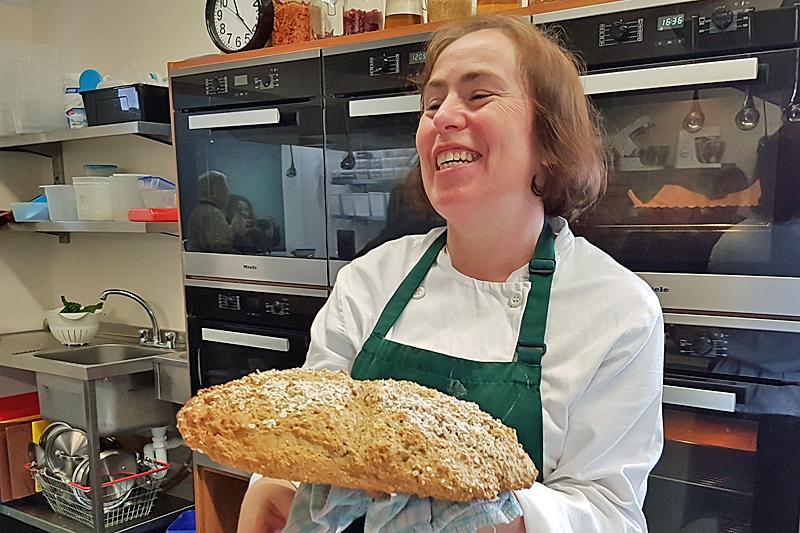 Dingle Cookery School Brown Irish bread