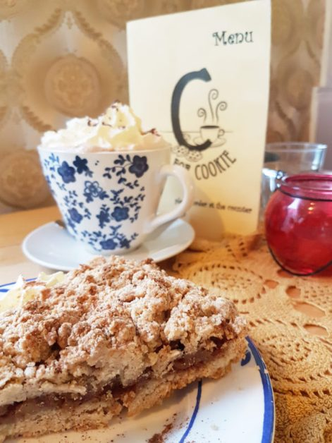 Apple pie at C is for Cookie