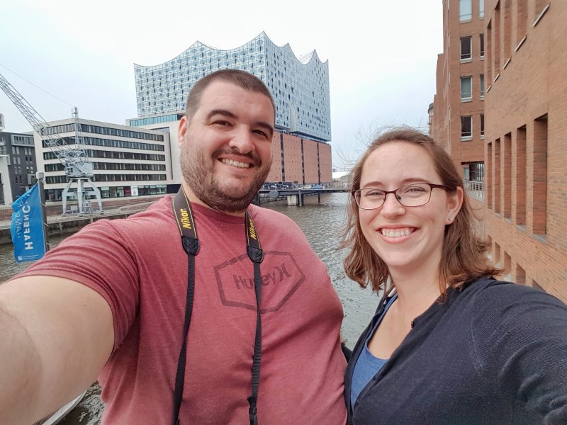 Sean and Jess in Hamburg