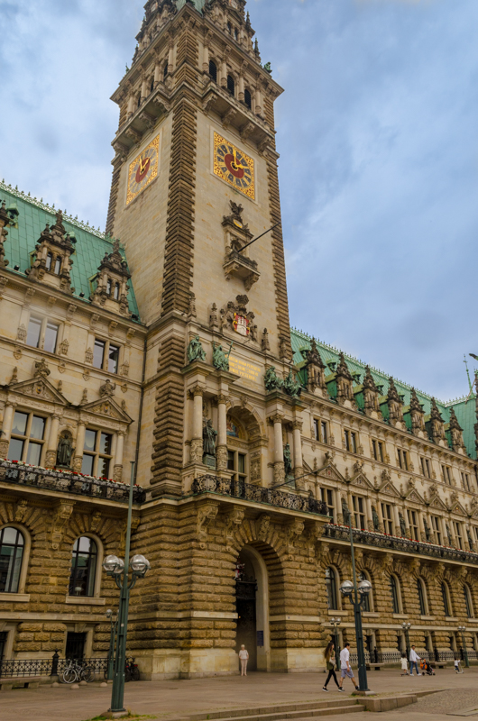 city hall Hamburg
