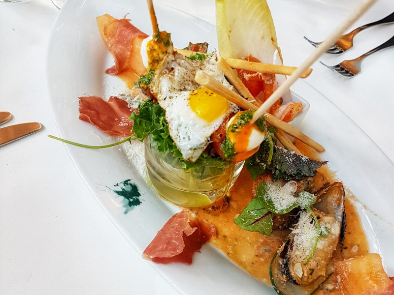 Pane E Tulipani appetizer
