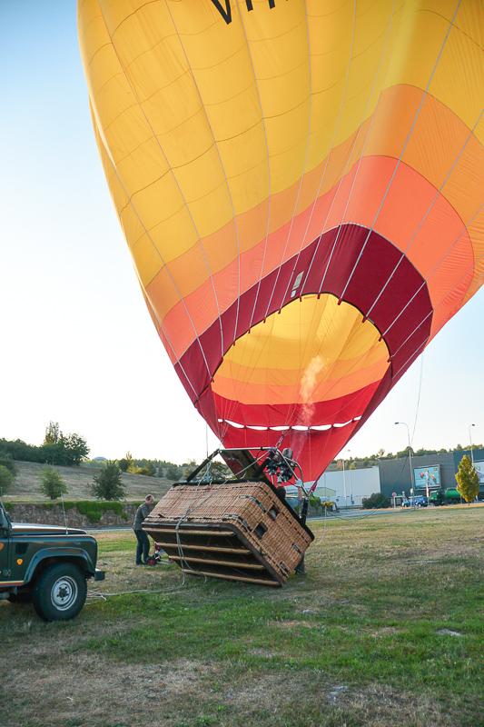 Brno balloon almost ready