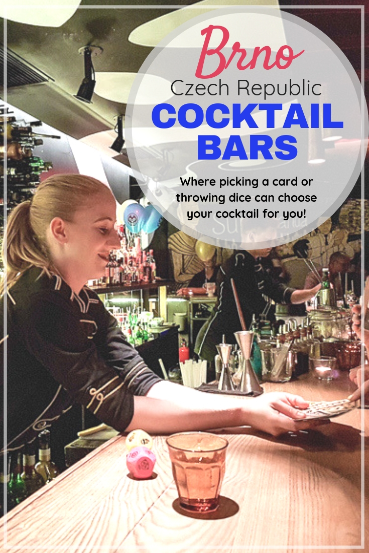 Discover Brno from a glass | This pin is all about cocktail bars in Brno, Czechia