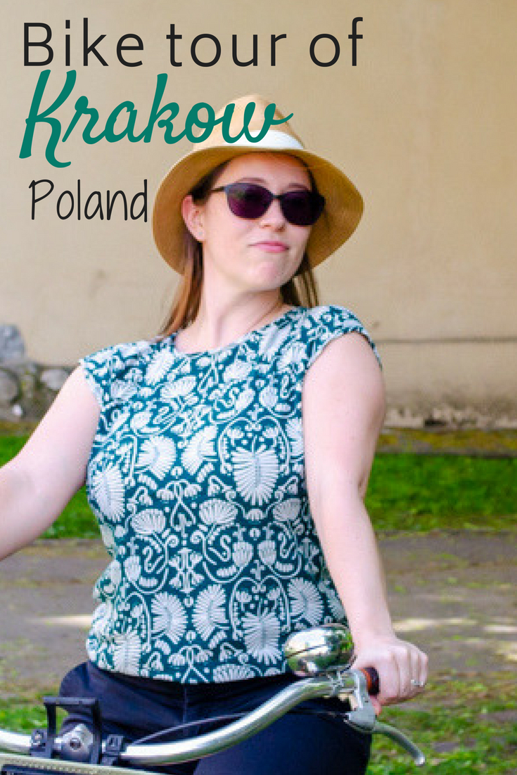 Take a bike tour of Krakow || Pin for later
