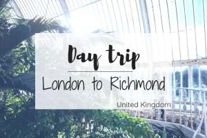 London to Richmond
