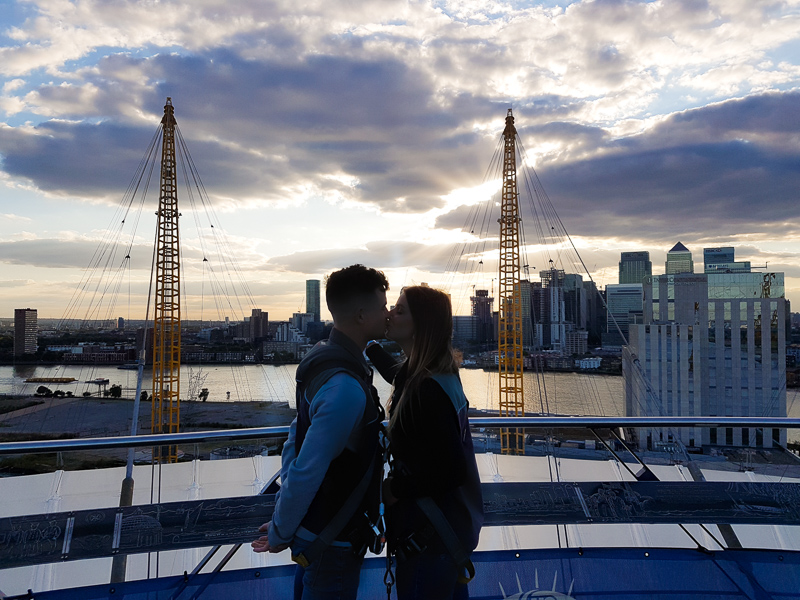 Romance on top of the O2