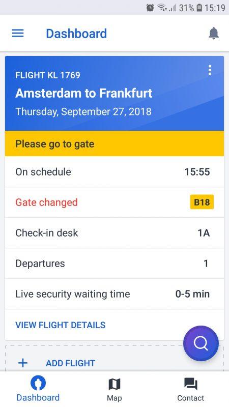Schiphol flight info