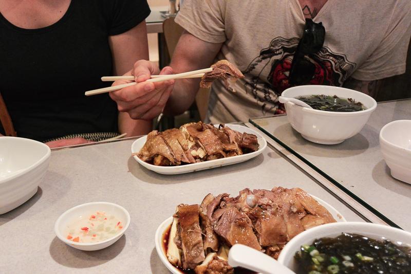 Hong Kong marinated goose