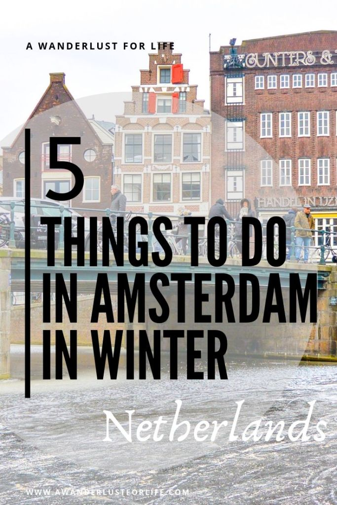 things to do in amsterdam in Winter