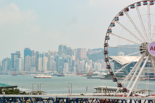 Vview from ifc of hk