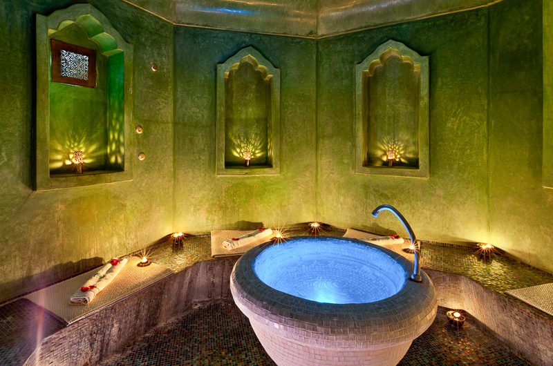 Hammam de la Rose hot room | My hammam experience in Marrakech